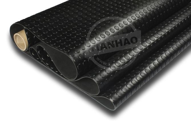 High round stud rubber mat - nanjing tianhao rubber sheet ...